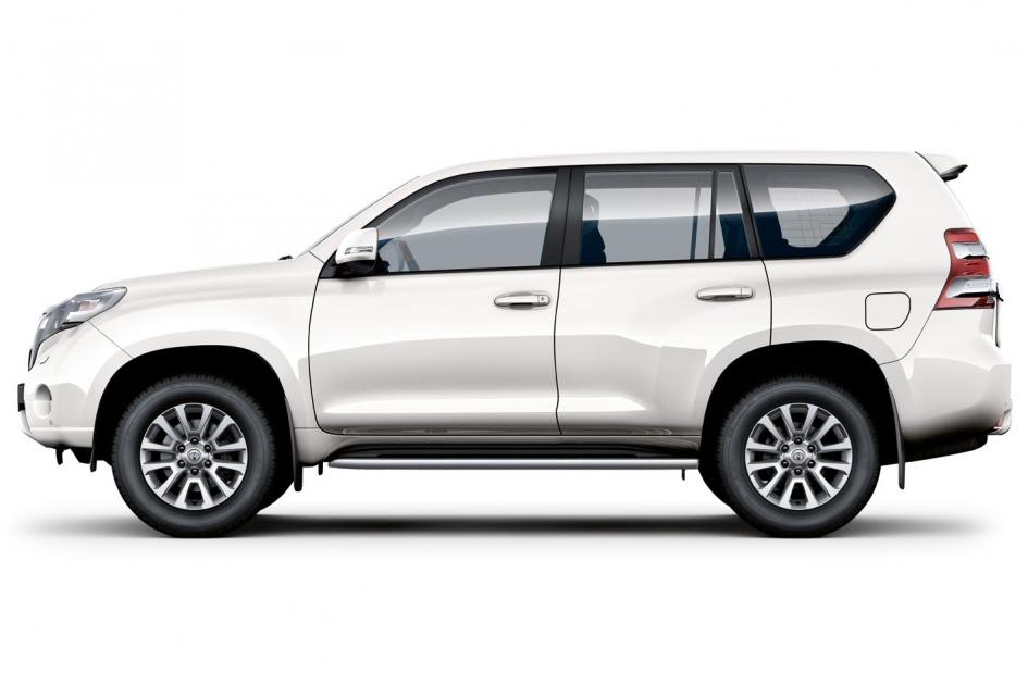 toyota prado myths about renting a car