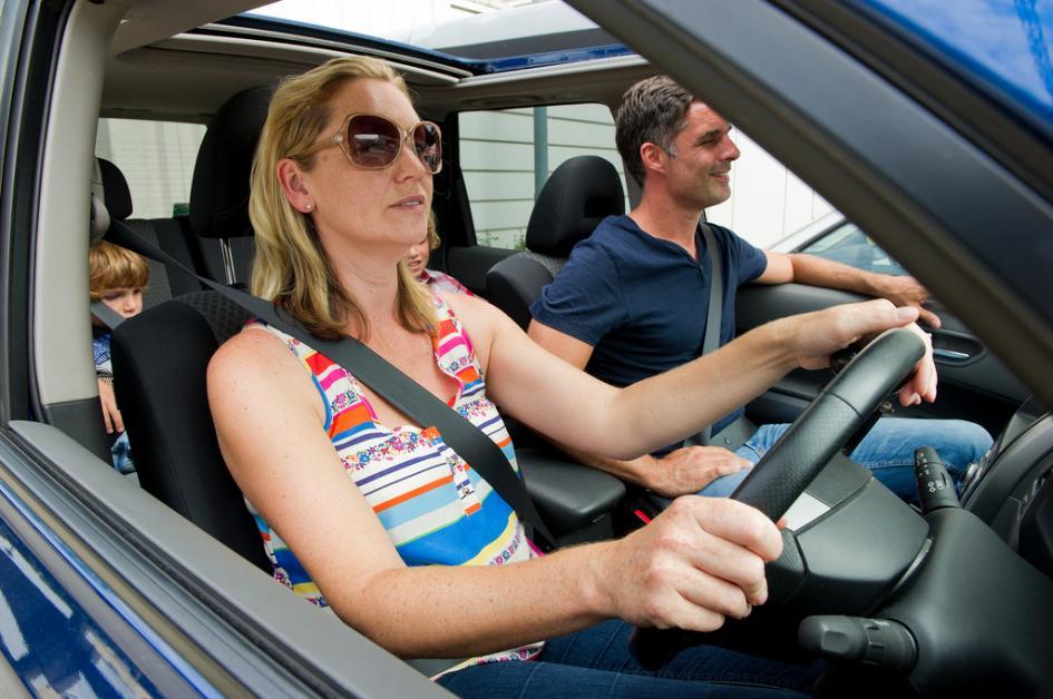 renting family car