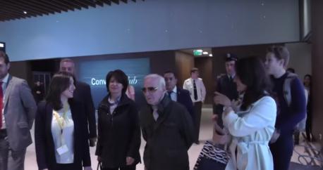 charles aznavour in yerevan